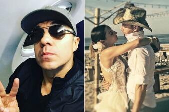 ¡Adrián Uribe dedica mensaje a su ex Marimar Vega por su boda!