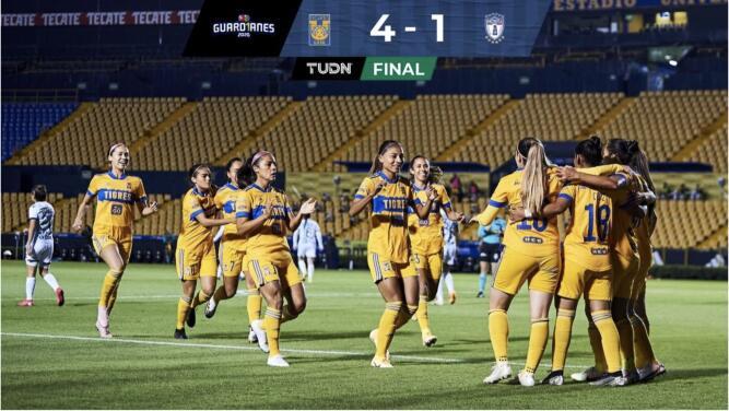 Resumen | Tigres baila, golea y elimina a Pachuca en los Cuartos