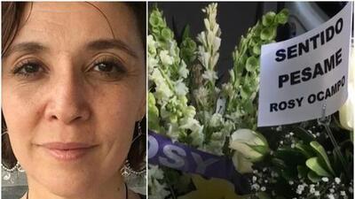 A puerta cerrada y con hermetismo velaron los cuerpos de Maru Dueñas y el hijo de María Rubio
