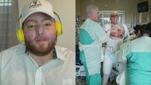 La explosión de una caldera deja a un joven puertorriqueño con graves quemaduras y una factura médica millonaria