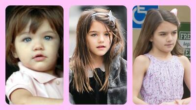 Suri Cruise con maquillaje: mira cuánto ha crecido la hija de Tom Cruise y Katie Holmes