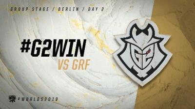 G2 Esports derrotó fácil a Griffin en su primer partido del Worlds 2019