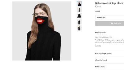 """Por qué el escándalo del """"suéter racista"""" de Gucci llega en el peor momento"""
