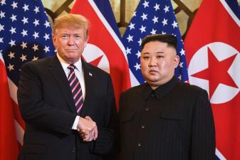 Kim y Trump en Vietnam: la segunda cumbre entre un líder norcoreano y un presidente de EEUU en ejercicio (fotos)