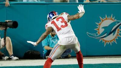 NY Giants arruinan el festejo en Miami