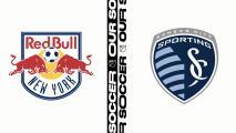 El resumen: Los Red Bulls caen en su casa ante Sporting KC por 1-2