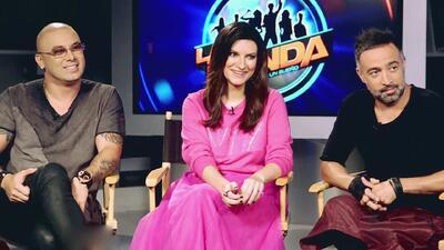 Laura Pausini, Mario Domm y Wisin serán los jueces de la nueva temporada de La Banda