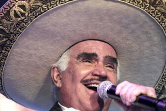 10 canciones más sonadas de Vicente Fernández