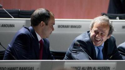 Las Vegas ponen como favoritos a Platini y Hussein para suplir a Blatter