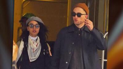 Confirmado: Robert Pattinson y FKA Twigs sí están comprometidos