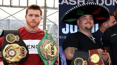 Saúl Álvarez y Andy Ruiz, la cara del deporte mexicano en el mundo