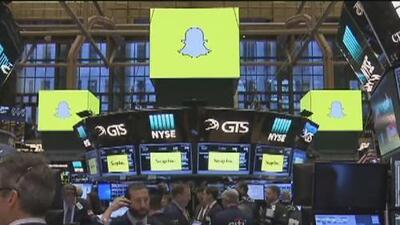 Las acciones de Snapchat incrementaron al debutar en la bolsa de valores de Nueva York