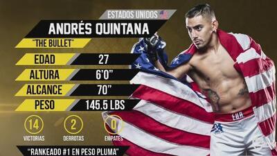 Camino a la Copa: Andrés Quintana, un luchador en los octágonos y en su vida diaria