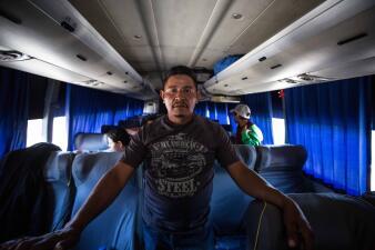 📸 Estos migrantes retornados a México se cansaron de esperar para entrar a EEUU y se devolvieron a sus países