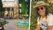 Conoce el lujoso hotel-spa que Marco Antonio Solís estableció en Morelia, Michoacán