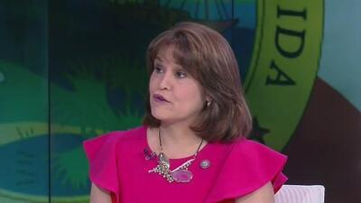 Annette Taddeo revela las propuestas con las que aspira quedarse con la reelección al Senado estatal