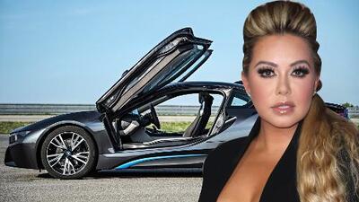 A Chiquis Rivera también le gustan los buenos autos