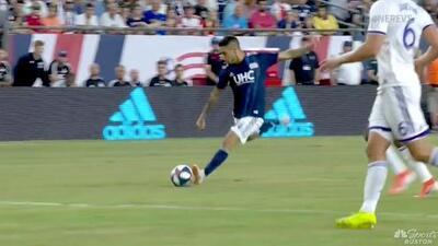 Diego Fagúndez hace un pedazo de gol desde fuera del área y New England marca el 4-0