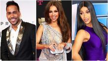 Romeo Santos, Cardi B y Thalía, los artistas con los que al público les gustaría pasar San Valentín