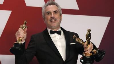 'Roma' se lleva tres premios Oscar incluyendo el de mejor director para Alfonso Cuarón