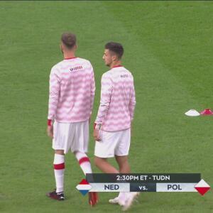 ¡Todo listo! Alineaciones para el Holanda vs. Polonia de UEFA Nations League