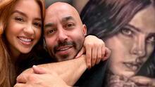 Novia de Lupillo Rivera habría contactado al cantante con el tatuador que le borró el rostro de Belinda