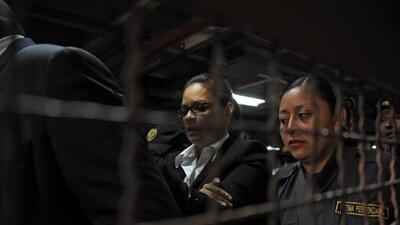 La exvicepresidenta de Guatemala Roxana Baldetti recibió dinero y seguridad de los Zetas, según EEUU