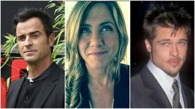 Destapan mensajes que Jennifer Aniston recibió, a Justin Theroux no le gustaron (y Brad Pitt está involucrado)