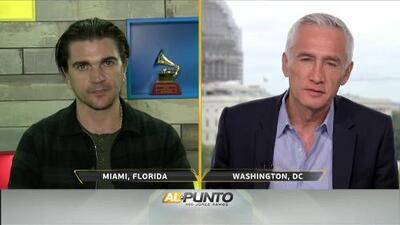 Jorge Ramos le pregunta a Juanes cómo están sus nervios días antes de cantarle al Papa