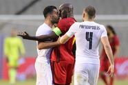 Belgica y Grecia igualan marcador y se van con empate 1-1 durante partido internacional amistoso. El primer gol cayó por parte de Thorgan Hazard al minuto 20' y, hasta la segunda mitad, el conjunto griego empareja el juego con gol de Giorgios Tzavelas, en el Estadio King Baudouin previo a la Euro.
