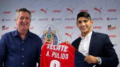 "Alan Pulido: ""Jorge Vergara me enseñó a amar a Chivas"""