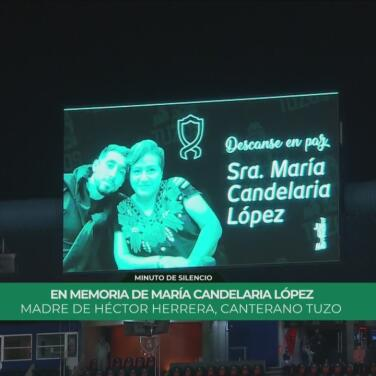 Tuzos y Xolos guardan un minuto se silencio en honor a la madre de 'HH'