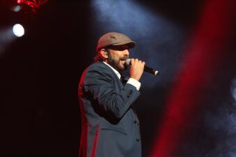 Juan Luis Guerra en el KQ Live Concert