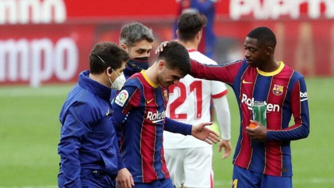 Barcelona pierde a Pedri para Champions por lesión