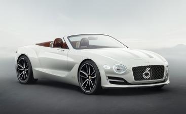 El Bentley EXP 12 Speed 6e Concept es lujo de alto voltaje