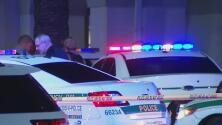 Un oficial de la policía de Miami-Dade le dispara a un hombre en el centro comercial The Falls