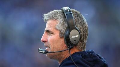 Frank Reich pasó de coordinador ofensivo de los Chargers al mismo puesto con los Eagles