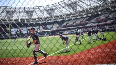 Yankees y Red Sox hicieron sus últimos ajustes antes de sus históricos juegos en Londres