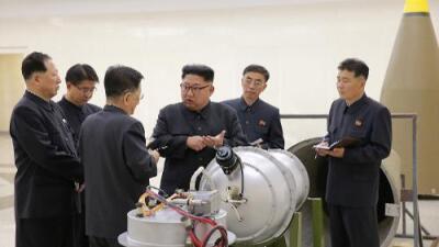 """Corea del Norte afirma que realizó """"con éxito total"""" una prueba con una bomba de hidrógeno"""