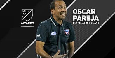 El colombiano Oscar Pareja es nombrado Entrenador del Año 2016 de la MLS