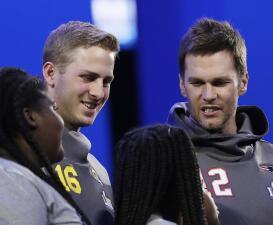Jared Goff tendrá la oportunidad de ganar un título de la NFL ante su ídolo, Tom Brady