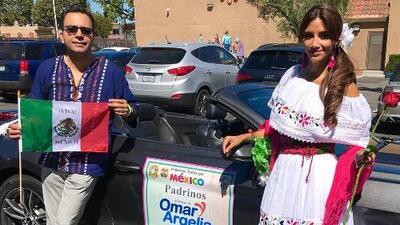 """""""Yo nunca había visto a Omar tan asustado en mi vida"""": Argelia recordó cuando le robaron a su esposo la bandera de México"""