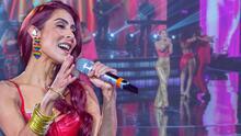 """María León puso un toque de cumbia a la tercera gala y Albertano la acompañó con todo su """"jícamo"""""""