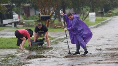 """""""Nos salvamos"""": Barry debilitado sigue camino a Arkansas, pero la inundaciones continúan siendo una amenaza"""