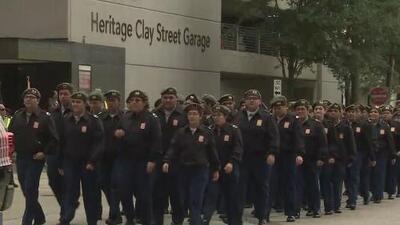 Así fue la celebración por el Día de los Veteranos en Houston