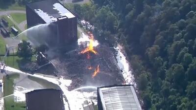 Incendio consume 45,000 barriles de whiskey en Kentucky