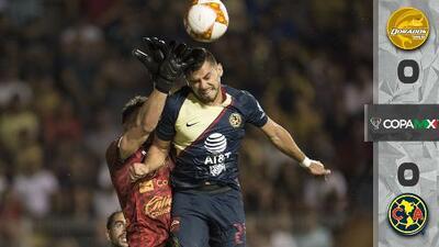 Dorados 0-0 América - RESUMEN – Tercera Jornada Copa MX