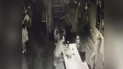 En video: El asalto a mano armada en un cine de la Ciudad de México