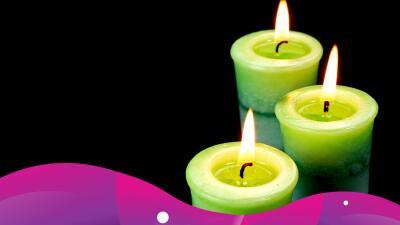 ¿Para qué sirven las velas verdes?