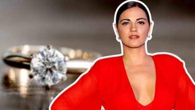 Maite Perroni vive como JLo, comprometida sin anillo
